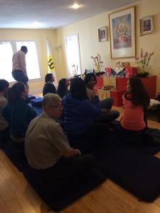 DreamWeek meditators